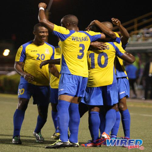 Photo: The Defence Force football team is on the rise again. (Courtesy Wired868)
