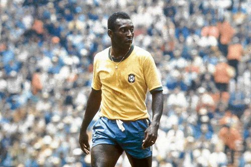 Photo: Brazil legend and one of the greatest to play the game, Pelé. (Courtesy Marca.com)