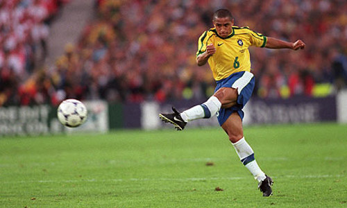 Photo: Former Brazil World Cup winner Roberto Carlos.