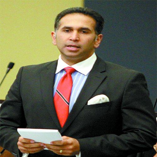 Photo: PNM Senator Faris Al-Rawi.