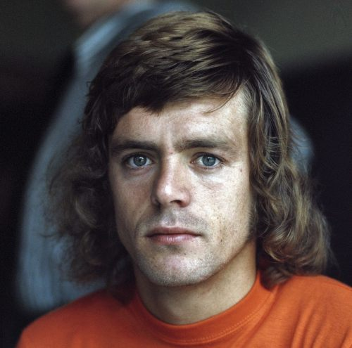 Photo: Holland's record World Cup goal scorer Johnny Rep.