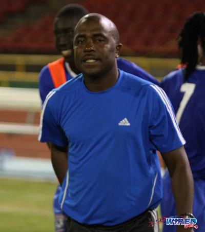 Photo: Naparima College coach Angus Eve. (Courtesy Wired868)