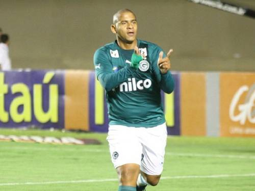 Photo: Brazilian striker Walter, 24, took minnows Goias to the verge of the Copa Libertadores last season and earned a move to Fluminese in January. Can a national call-up be next?