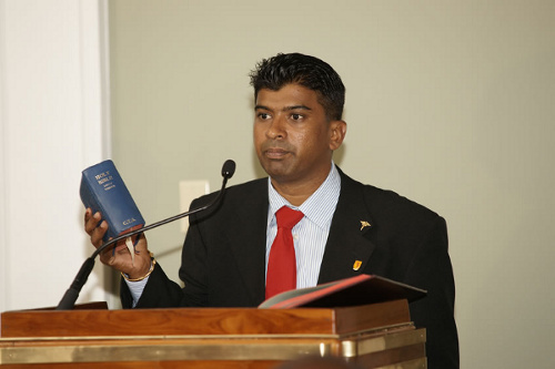 Photo: Minister of the People Glenn Ramadharsingh is allegedly not a people's person.