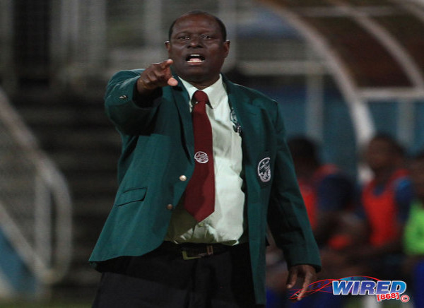 Photo: W Connection coach Stuart Charles-Fevrier. (Courtesy Allan V Crane/Wired868)