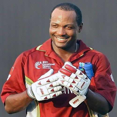 Photo: West Indies cricket legend Brian Lara. (Copyright AFP 2014/Indranil Mukherjee)