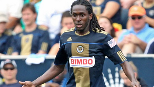 Photo: Trinidad and Tobago midfielder Keon Daniel was released by Philadelphia Union on 8 April 2014. (Courtesy MLS.com)