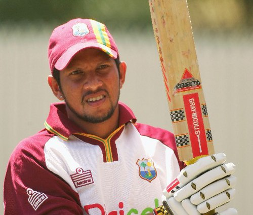 Photo: West Indies and Guyana cricketer Ramnaresh Sarwan.