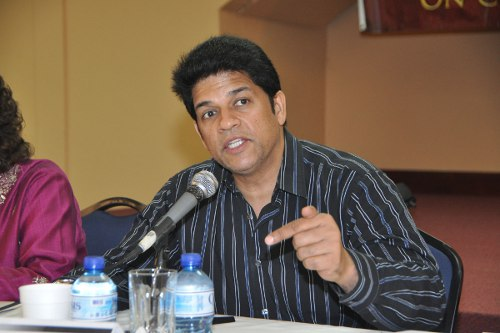 Photo: COP leader Prakash Ramadhar.