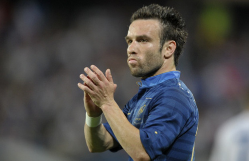 Photo: France attacker Mathieu Valbuena.