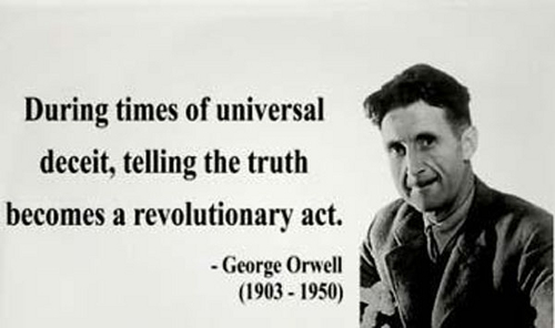 "George Orwell 1984 Quotes Magnificent Well Well Orwell Is T&t Drifting Towards ""1984""  Wired868"