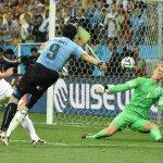 Uruguay bites back: Suarez sinks England… but was he offside?