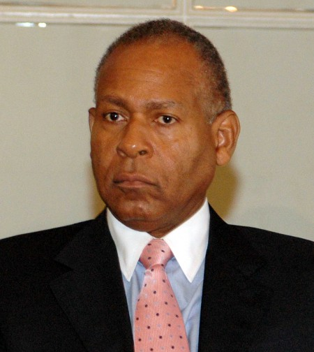 Photo: Former Prime Minister Patrick Manning has already served two terms.