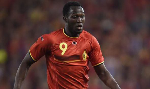 Photo: Belgium forward Romelu Lukaku.