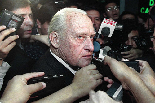 Photo: Late former FIFA president Joao Havelange. (Copyright AFP 2014/Matias Recart)
