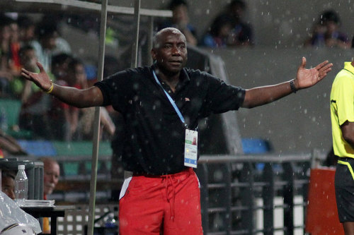 Photo: Former Trinidad and Tobago national women's team head coach Marlon Charles has accepted a post as Randy Waldrum's understudy. (Courtesy SPH-SYOGOC/Eddie Chen)
