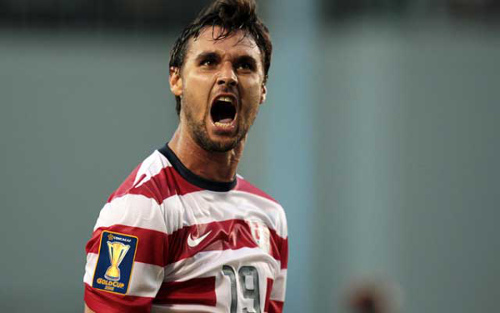 Photo: United States forward Chris Wondolowski. (Courtesy CBS Sports)