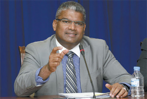 Photo: Former Attorney General Anand Ramlogan.