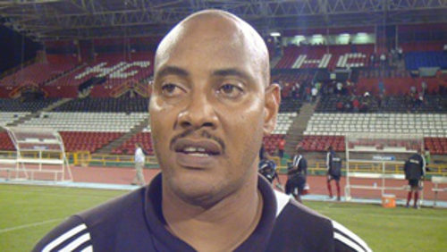 Photo: Trinidad and Tobago National Under-17 head coach Shawn Cooper.