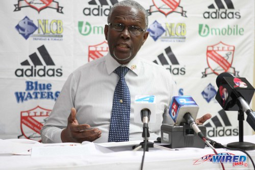 Photo: Trinidad and Tobago Football Association vice president Lennox Watson. Courtesy: Wired868