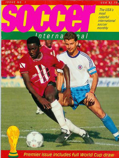 Photo: Teenaged Trinidad and Tobago attacker Dwight Yorke came to prominence during the 1990 World Cup qualifying series.