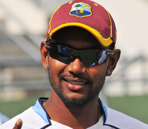 Photo: West Indies test captain and Trinidad and Tobago cricketer Denesh Ramdin.