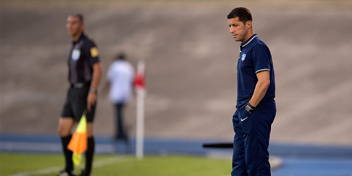 Photo: United States National Under-20 Team coach Tab Ramos. (Courtesy CONCACAF)