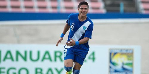 Photo: Guatemala forward Mauro Portillo. (Courtesy CONCACAF)