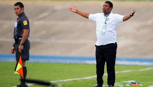 Photo: Trinidad and Tobago National Under-20 head coach Derek King. (Courtesy CONCACAF)