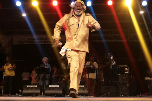 Photo: Five-time Calypso Monarch, the Black Stalin. (Courtesy NCCTT.org)