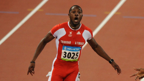 "Photo: Trinidad and Tobago sprint star Richard ""Torpedo"" Thompson. (Courtesy Power 102FM)"