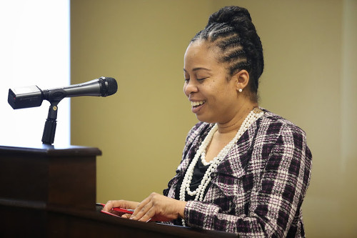 Photo: CWGHR executive director Tammy C Yates.