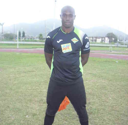 Photo: San Juan Jabloteh's Shane Mattis. (Courtesy: Nadira Mathura/Wired868.)
