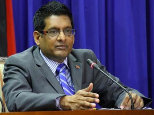 Photo: Minister of Food Production Devant Maharaj. (Courtesy i95.5fm)