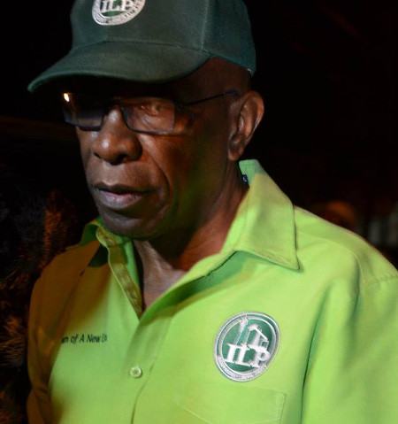 Photo: ILP political leader Jack Warner.