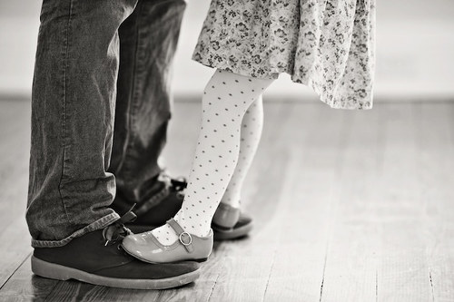 Photo: Daddy's little girl.
