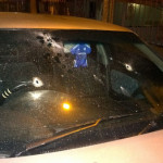 Mollon caught in crossfire; W/Warriors star's car shot up in Chaguanas