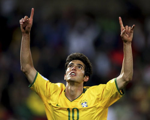 Photo: Brazil football star and former World Player of the Year, Kaka.