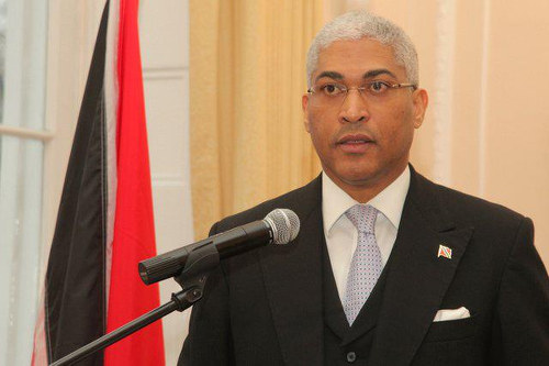 Photo: Trinidad and Tobago Attorney General Garvin Nicholas.