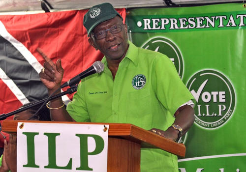 Photo: ILP political leader, Chaguanas West MP and ex-FIFA vice president Jack Warner. (Copyright AFP 2015/Alva Viarruel)