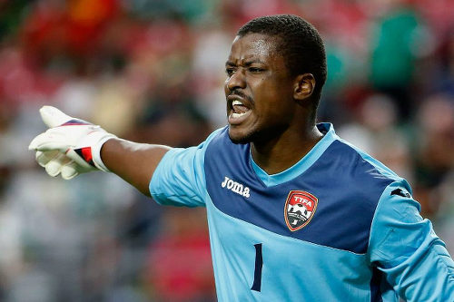 Photo: Trinidad and Tobago goalkeeper Marvin Phillip. (Courtesy CONCACAF)