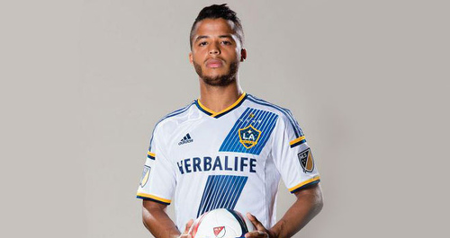 Photo: Mexico star Giovani Dos Santos made his LA Galaxy debut against Central FC. (Copyright LA Galaxy)