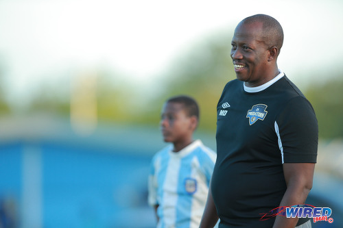Photo: Cunpia FC coach Michael De Four. (Courtesy Allan V Crane/Wired868)