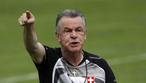 Photo: Legendary German coach Ottmar Hitzfeld.