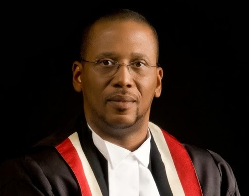 Photo: Chief Justice Ivor Archie.