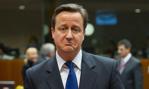 Photo: Britain Prime Minister Dave Cameron.