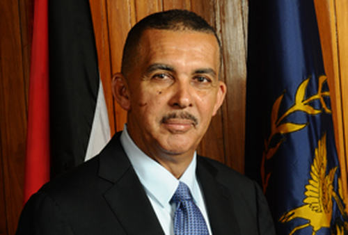 Photo: President Anthony Carmona.
