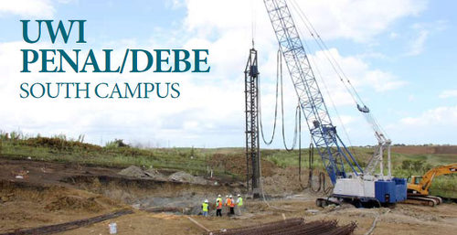 Photo: The site for UWI's Debe campus. (Courtesy sta.uwi.edu)