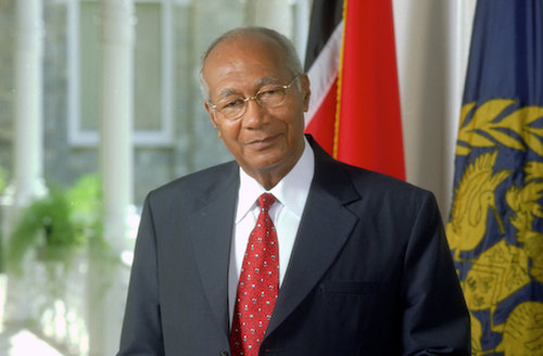 Photo: Former Trinidad and Tobago president and UWI principal Max Richards. (Courtesy unctt.com)