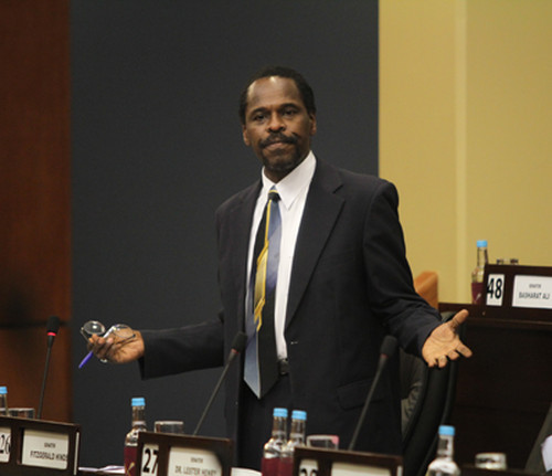 Photo: New Minister of Works and Transport Fitzgerald Hinds. (Courtesy Power 102FM)